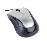 MOUSE USB OPTICAL BLACK/GREY/MUS-3B-02-BG GEMBIRD
