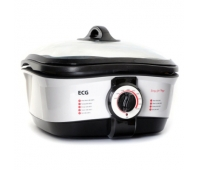 ECG ECGMH158 Multifunctional pot, 8 in 1 functions, 1500W, 5L, White/Black color